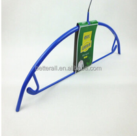 high quality metal coat hanger with hook