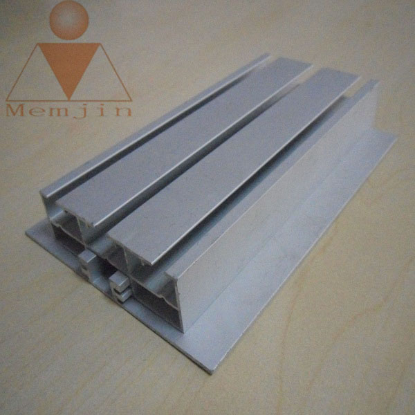 aluminium extrusion frame for led lighting tube display 6063 t5 profile of strip mill finish