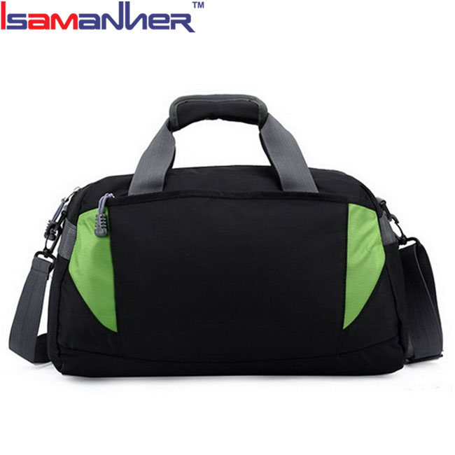 Waterproof portable duffle bag fashionable 600D polyester easy travel bag