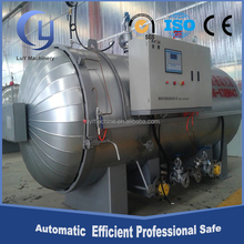 Automatic 6m steam vulcanizing autoclave for rubber vulcanization tubes