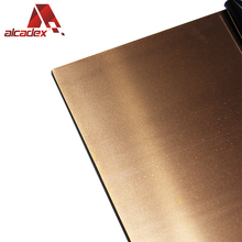 wall cladding decorative copper panels copper composite panel