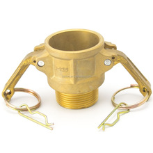 Coper Cam and Groove Female coupler x Male NPT Thread