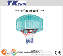 44'' Transparent ABS full size basketball backboard combo sets