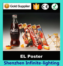 el poster making new technology protect environment posters el light sheet/El Panel Poster/El Advertisement