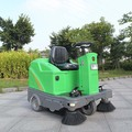 Rechargeable mini road sweeper road sweeping vehicle DQS12