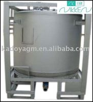 cylindrical IBC storage tank,container