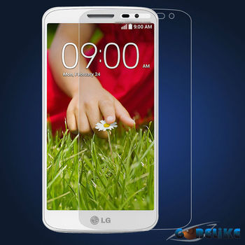 0.3mm clear premium tempered glass screen protector for LG G2