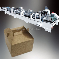 QH-SLJ High Speed Fully Automatic Wax Coated Paper Food Box