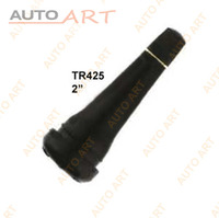 Long Black Rubber Tubeless Tire Valve Tr425 with Cap and Core