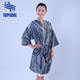 High Quality Women Satin Silk Kimono Spa Bath robe