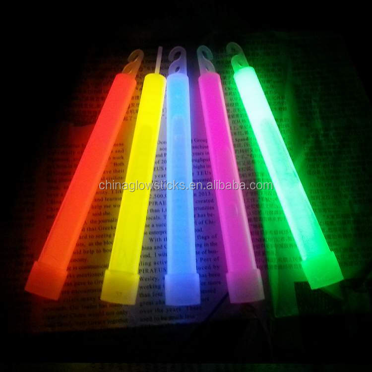 White 6 Inch Premium Glow Sticks ,Safety Lighting Light Stick White