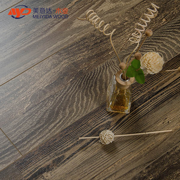 Parquet registered embossed HDF Laminate flooring
