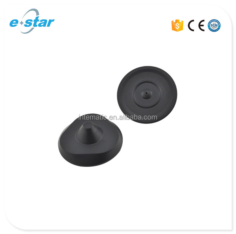 Estar High Quality EAS black delta triangle rf anti theft 8.2mhz 50mm tag