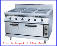 (#900)High Efficiency Best Price Electric Stove cooker Stainless Steel Square 6 Hot Plate (OT-895A)