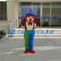Game playing customized cute clown adults role costume for cosplay