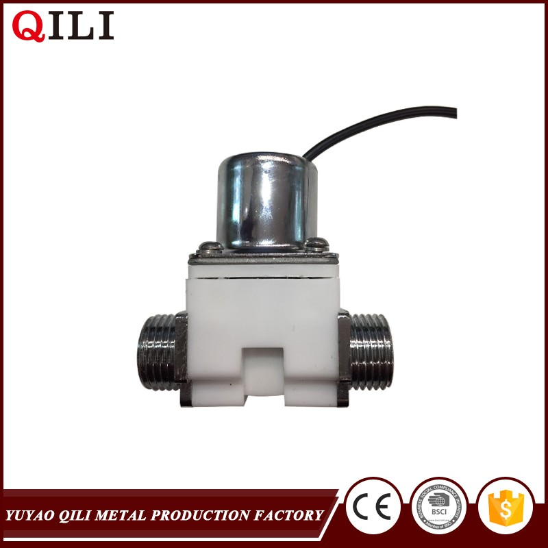 Pilot water diverter electric solenoid valve