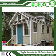 hot sale fashionable prefabricated wood mobile tiny house