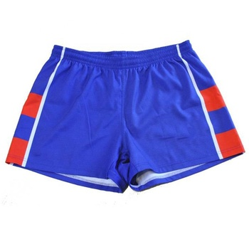 OEM service online sale sublimated printing make your own rugby football shorts