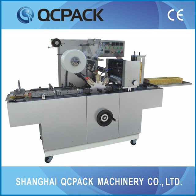 box cellophane wrapping machine