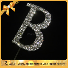 Big diamond letter A-B cake topper,cake decorating accessories for cake shop