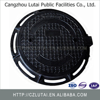 New type cast iron manhole cover en124 d400