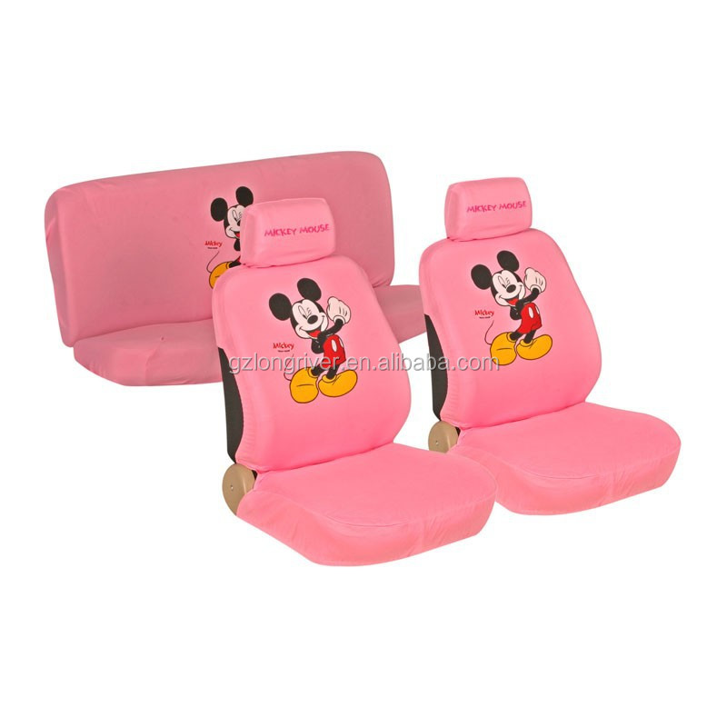 Car Accessories Mickey Mouse Car Seat Covers for Girls