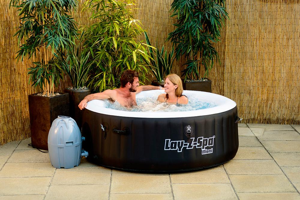 Bestway Miami Air Jet Jacuzzi Swim cheap Outdoor tubs Spa