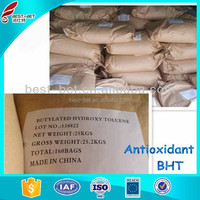 Made in china CAS.NO 128-37-0 antioxidant BHT chemical name 2.6-Di-terbutyl-4-methyl phenol