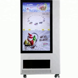 Sandwich vending machine with customized touch screen