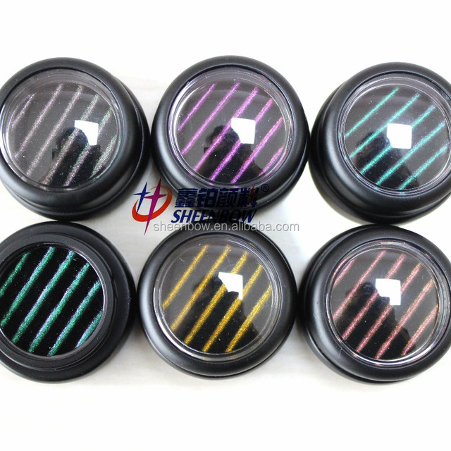 Sheenbow 3D eyeshadow chameleon pigments for cosmetics