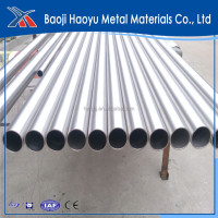 ASTM B338 Gr1 titanium pipe for chemical industry