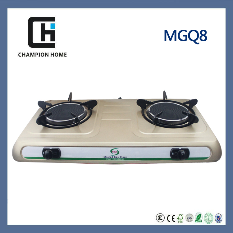 NEW Arrival luxury infrared gas cooker