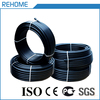 Plastic black water supply pn10 25mm hdpe roll pipe
