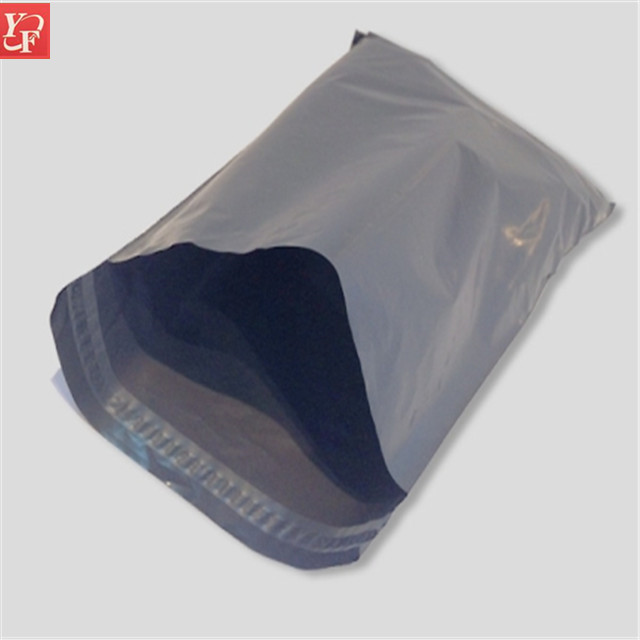 China alibaba heavy duty clear 50 micron plastic custom poly mailer bag