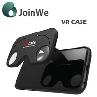 Virtual Reality Lens Cover 3D VR Glasses phone Case for smartphone ABS + PC Material vr case glasses