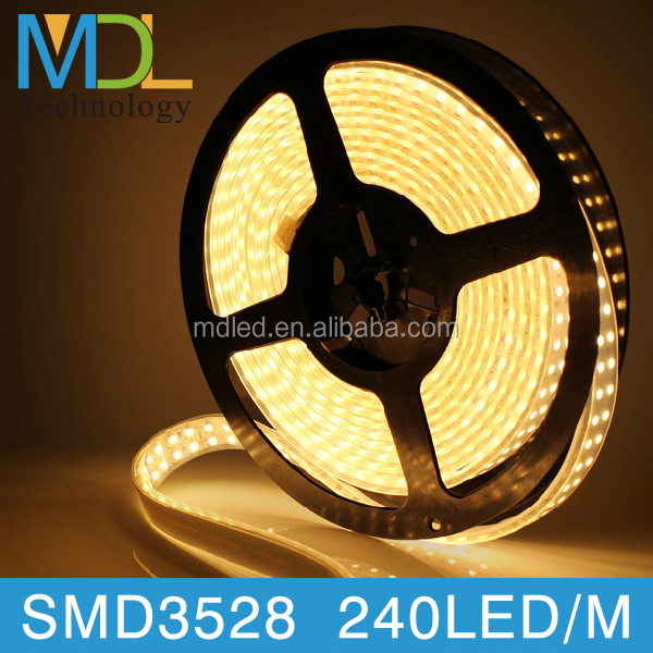 good price high priceness smd3528 Waterproof high power lights wholesale flexible strip light ip68 60led/m 120led/m 240led/m