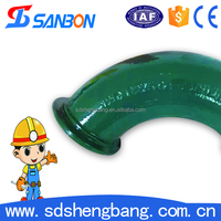 Familiar with ODM factory Concrete pump Casting elbow joint pipe factory
