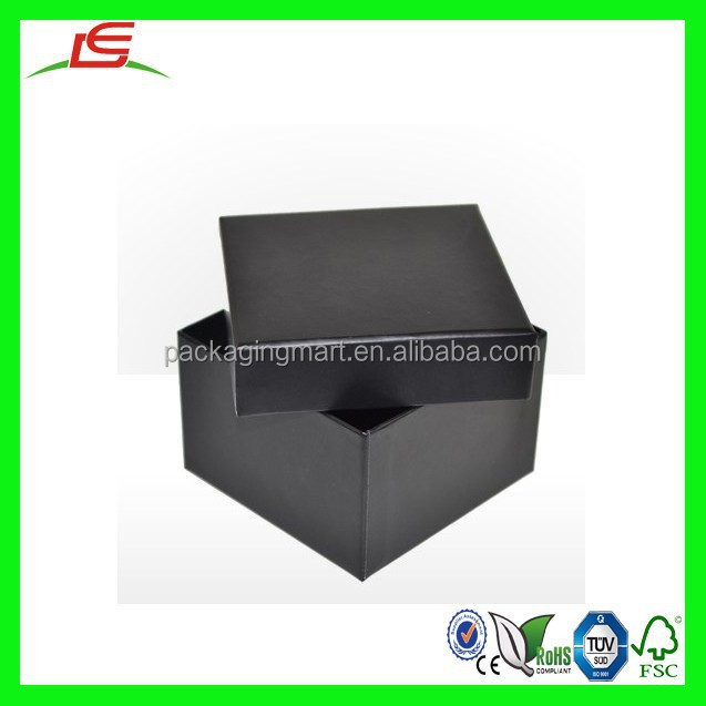 N923 New Jewelry Gift Boxes Midnight Black Two Piece Card Deep Box Watch Packaging Box