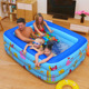 Big Inflatable Family Pool floating inflatable boat swimming pool, inflatable swimming pool Singapore