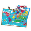 E1010 2014 brand new for kids baby child creative toys magnetic learning educational games world map puzzle