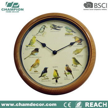 Modern cuckoo bird wall clock with bird sound talk wall clock for sale buy cuckoo clock wall - Cuckoo bird clock sound ...