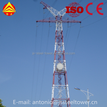 Power Transmission Tubular Tower
