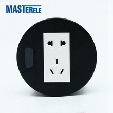 desktop multi socket outlet used in desk furniture sofa power and data