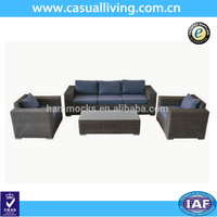 Modern Furniture Cheap Rattan Garden Outdoor Furniture 4pcs Sofa Set