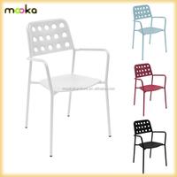Hotel Chair Metal Dining Chair Replica Emu Shot Arm chair
