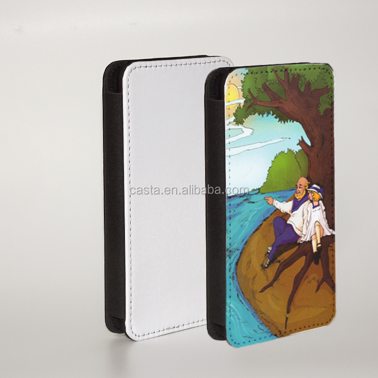 New design card holder elegant Blank sublimation mobile phone case for samsung galaxy J5 prime pu leather flip cover