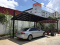 polycarbonate carports for car parking canopy with metal frame
