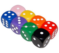 Dice different colored Colorful Dice Pieces - Rounded Dice