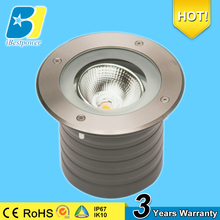 12W COB led grass lighting CE ROHS SASO led lights in concrete