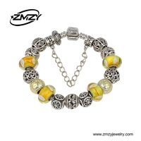 Trending Hot Products High-Quality European Charm Bead Bracelet 2015 For Mother's Day Gifts